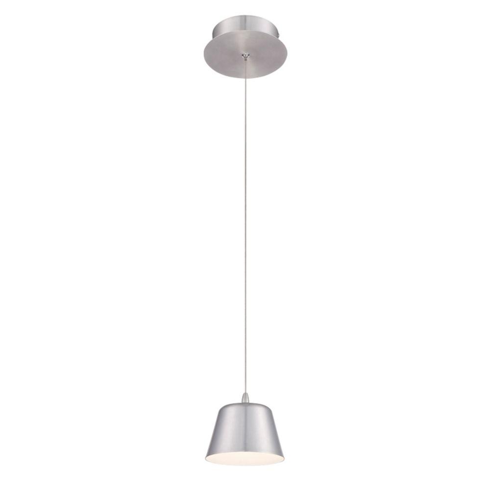 Collection Bowes, luminaire suspendu en aluminium à 1ampoule DEL