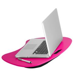 Honey-Can-Do International Portable Lap Desk in Hot Pink