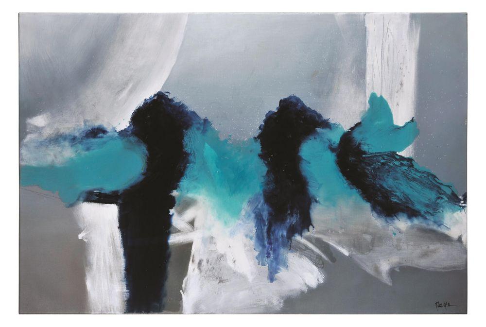 Shaken Canvas Art