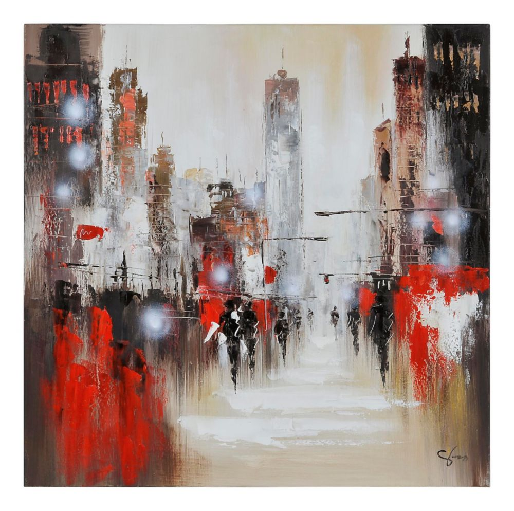 Windy Day Canvas Art
