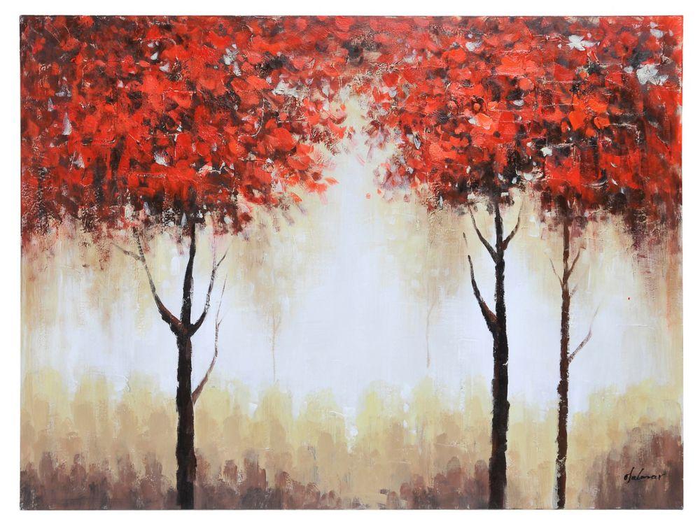 Autumn Mist Canvas Art