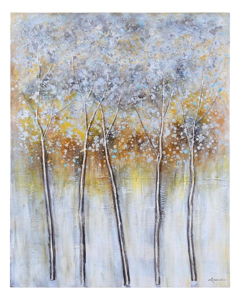 Family Trees Canvas Art
