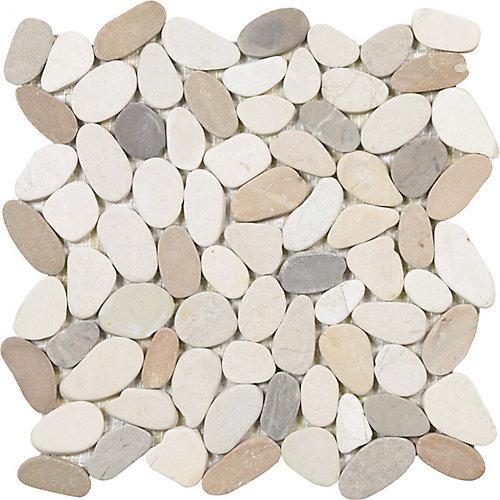 Bali Warm Blend Pebble Mosaics