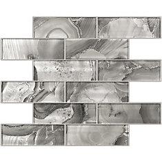 2x6 Glitz Quartz Glass Mosaics