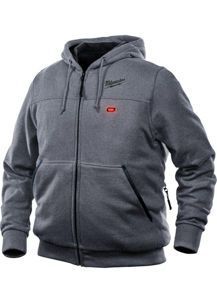 M12 Heated Hoodie Only - Gray - Medium