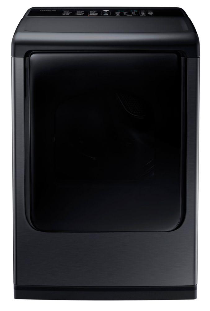 Sécheuse électrique à chargement vertical blanche de 7,4pi. cube - DV50K8600EV