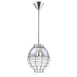 Brampton Collection, 1-Light Chrome Pendant