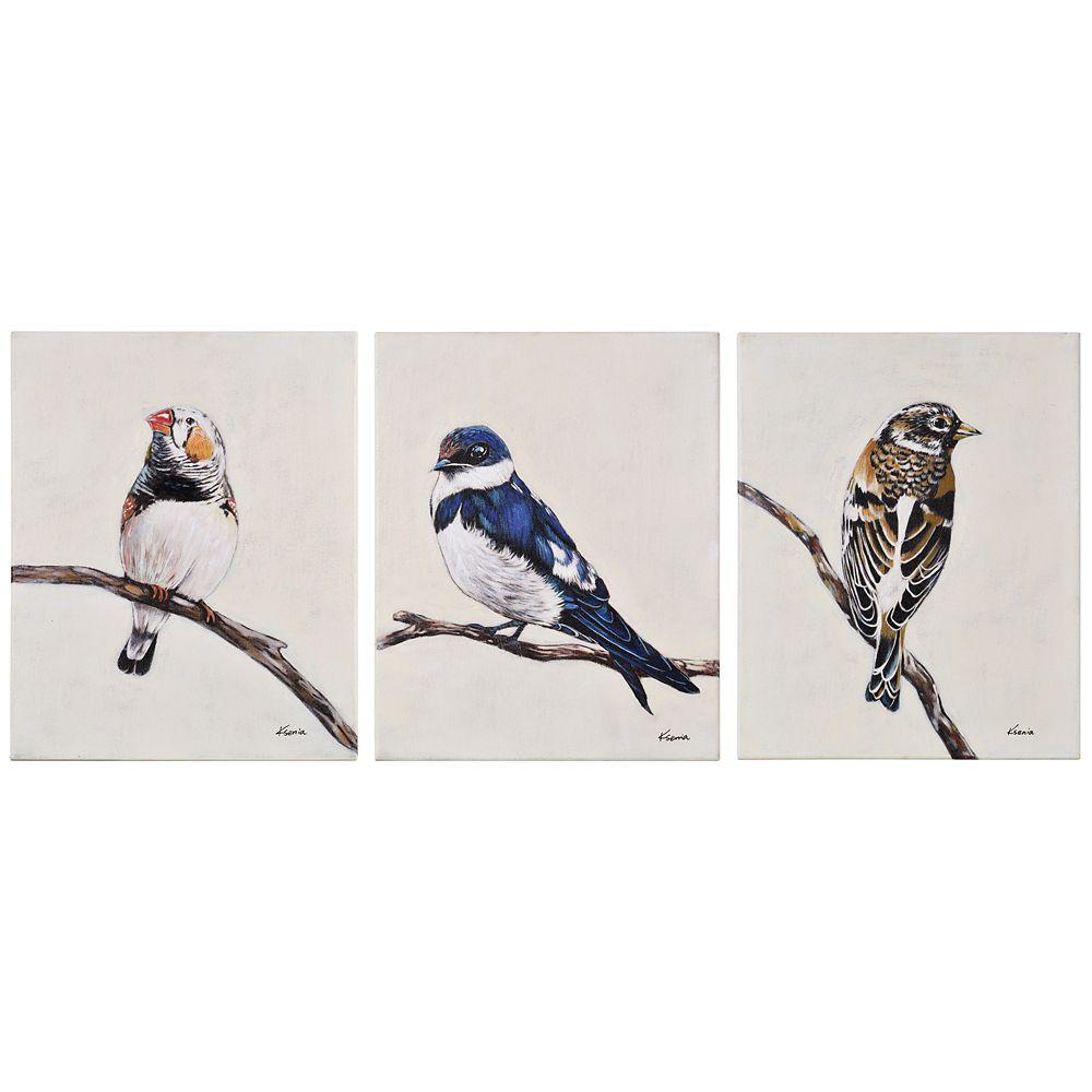 Little Flock Canvas Art