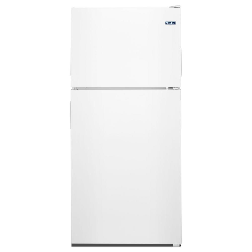 Maytag 30 Inch W 18 Cu Ft Top Freezer Refrigerator In