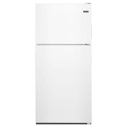 Maytag 30-inch W 18 cu. ft. Top Freezer Refrigerator in White