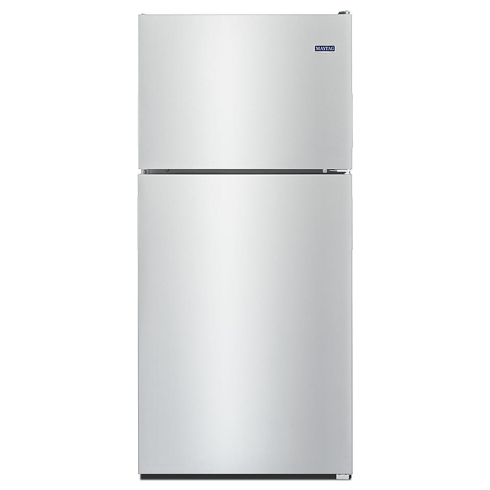Réfrigérateur supérieur de 33 po W 21 pi3 en acier inoxydable résistant aux empreintes digitales.