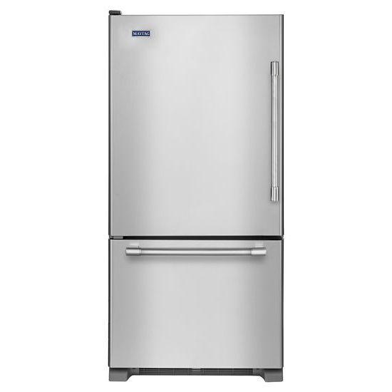 Réfrigérateur à congélateur inférieur Maytag<sup>®</sup> avec tiroir-congélateur, 30 po, 19 pi3