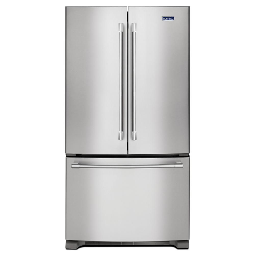36-inch Wide French Door Refrigerator - 25 cu. ft