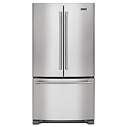 Maytag 36-inch W 25 cu. ft. French Door Refrigerator in Fingerprint Resistant Stainless Steel - ENERGY STAR®