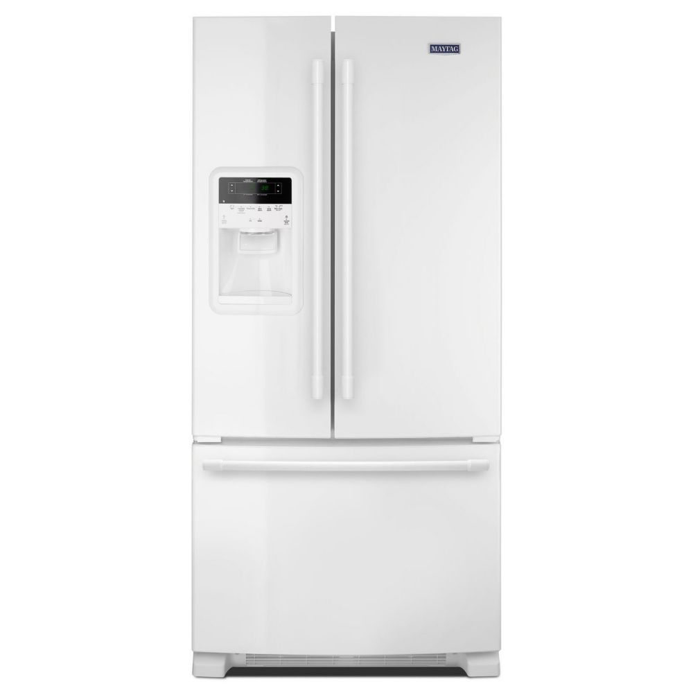 36- Inch Wide French Door Refrigerator with Beverage Chiller� Compartment - 22 Cu. Feet,