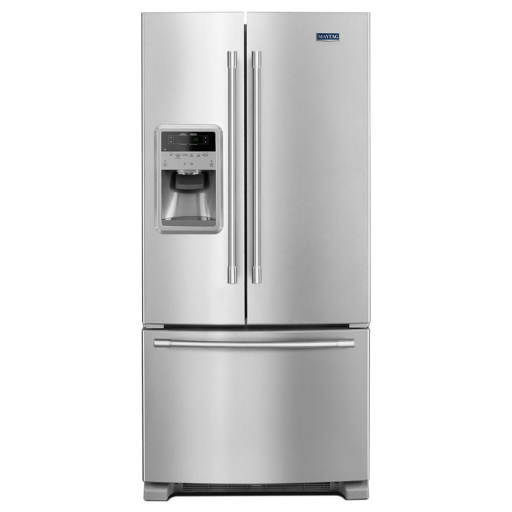 33- Inch Wide French Door Refrigerator with Beverage Chiller� Compartment - 22 Cu. Feet,