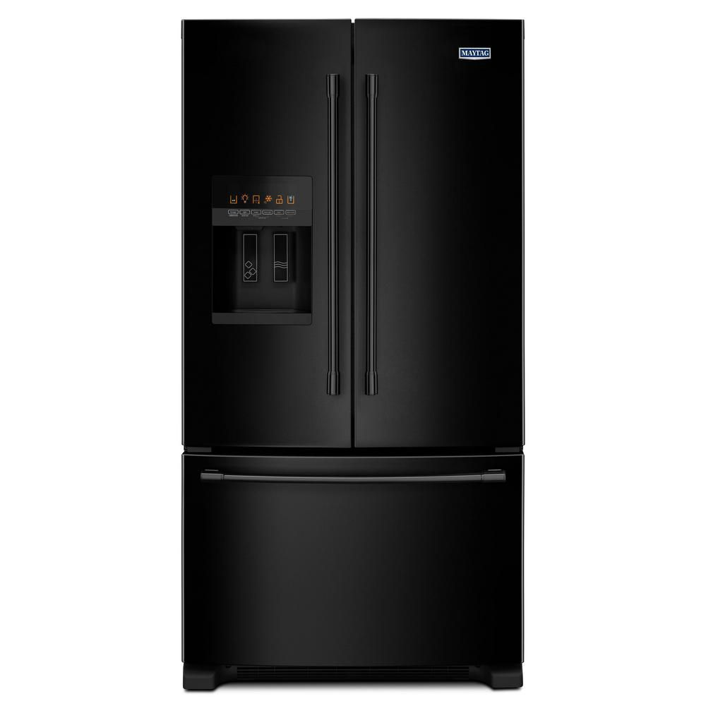 36- Inch Wide French Door Refrigerator with PowerCold<sup>®</sup> Feature - 25 Cu. Ft,