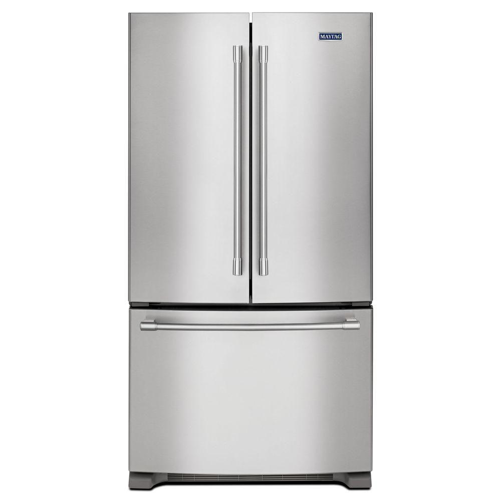 36- Inch Wide Counter Depth French Door Refrigerator - 20 Cu. Feet
