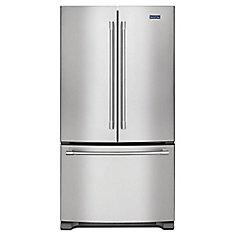 36-inch W 20 cu. Ft. French Door Refrigerator in Fingerprint Resistant Stainless Steel, Counter Depth - ENERGY STAR®