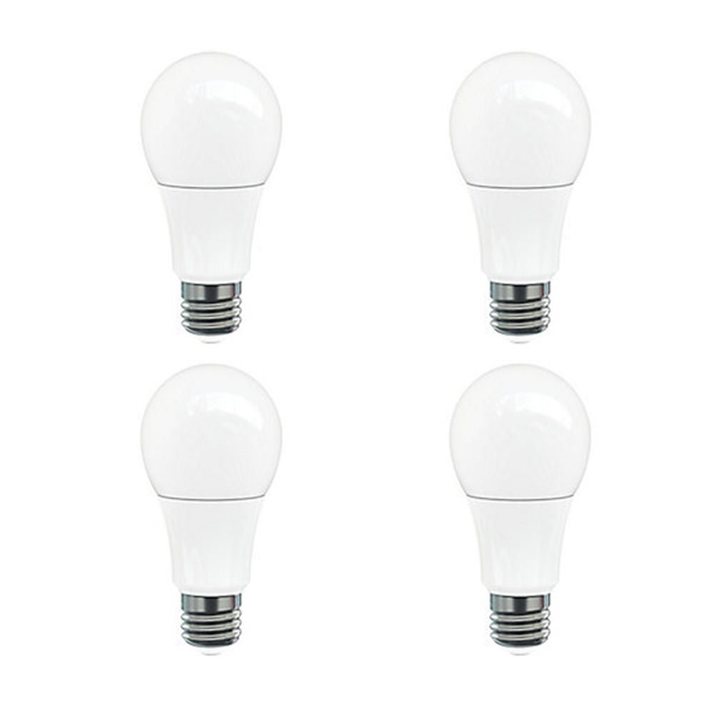 A19 9W =60W 800 lm CRI 83 Dimmable LED Bulb - 4 -pk