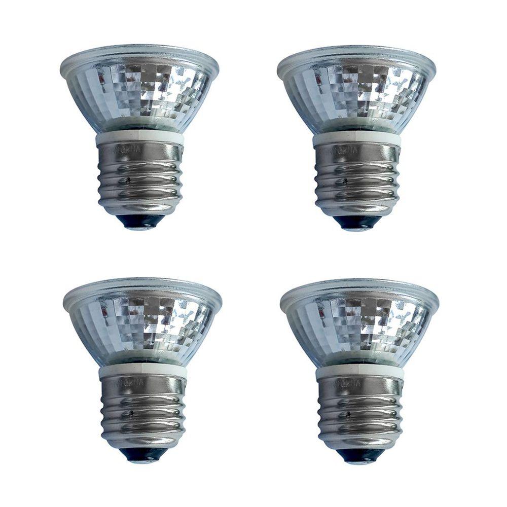 Par16 5W = 50W  425 lm CRI 80 Dimmible LED 3000K - 4pk