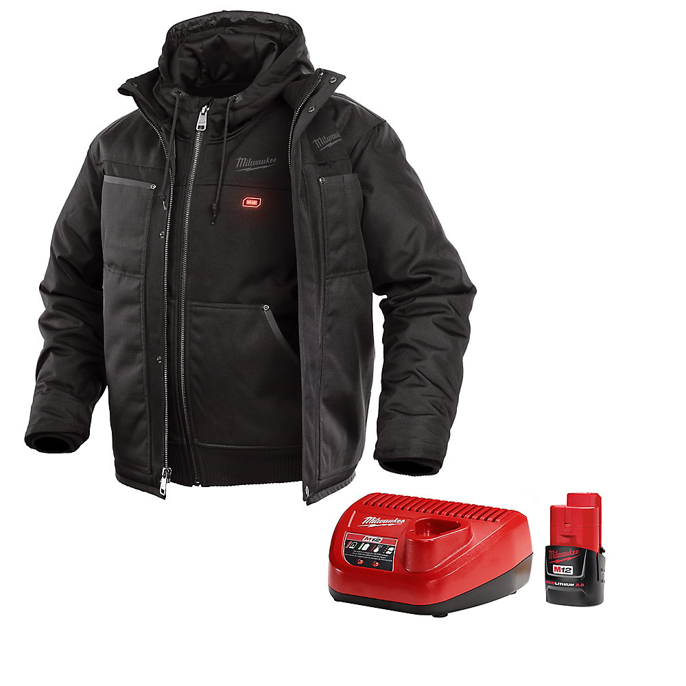 c38891a3a M12 Heated 3-in-1 Jacket Kit - Black - Medium