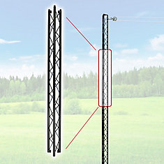 48-Inch Clothesline Post Extra Section