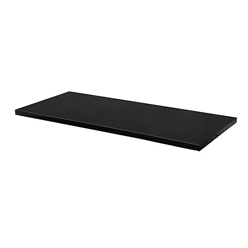27.9-inch W x 1-inch H x 15.4-inch D Steel Shelf for 28-inch 2-Door Base Cabinet (2-Pack)