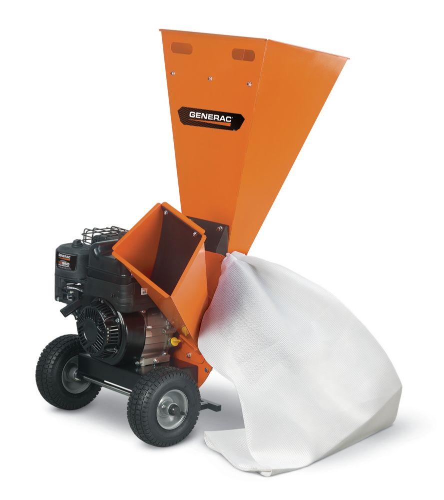 """Generac 3 """" Gasoline Chipper with Shredder"""