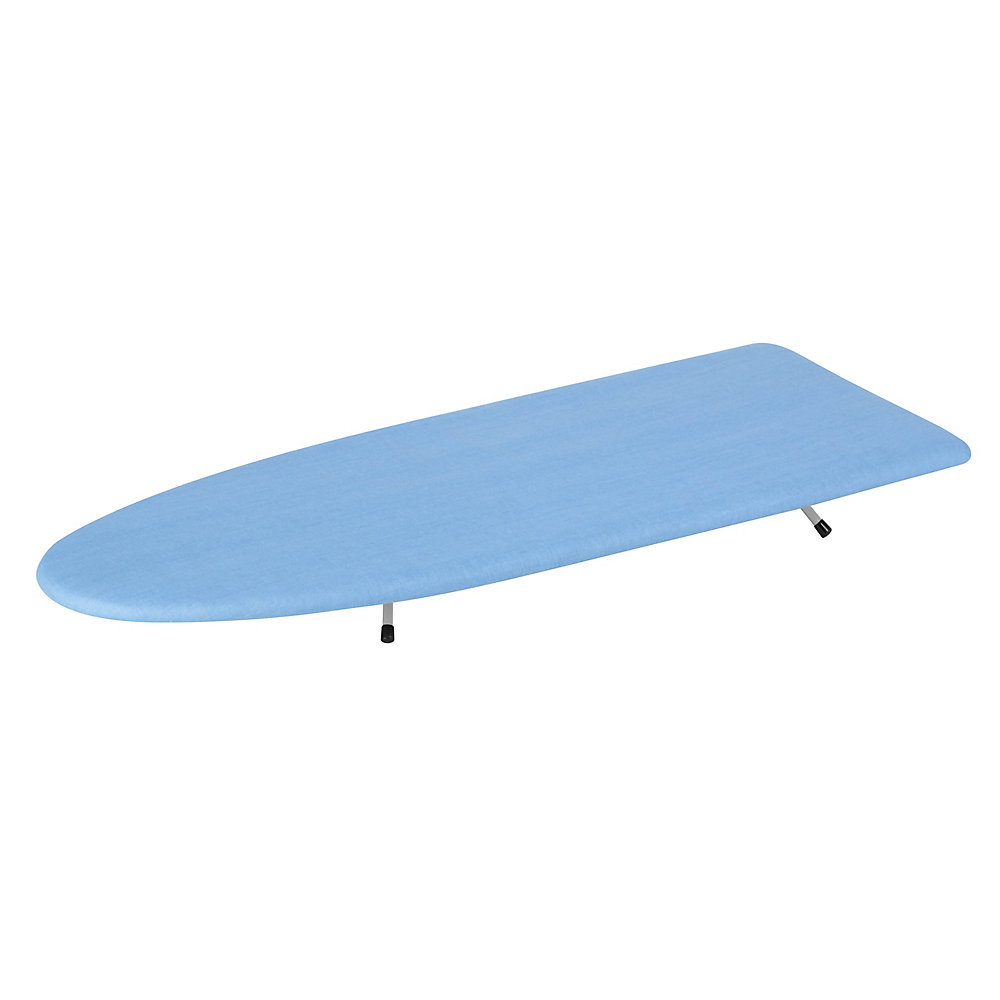 03e8af578c2b Honey-Can-Do International Tabletop Ironing Board in Blue and White ...