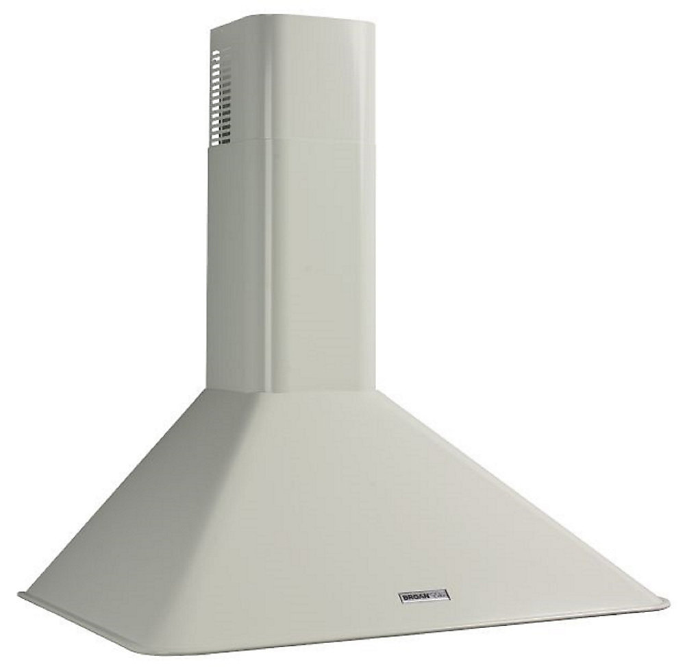 """RM503001 Broan 290 CFM, 30"""" Wall-Mounted Chimney Hood in White"""