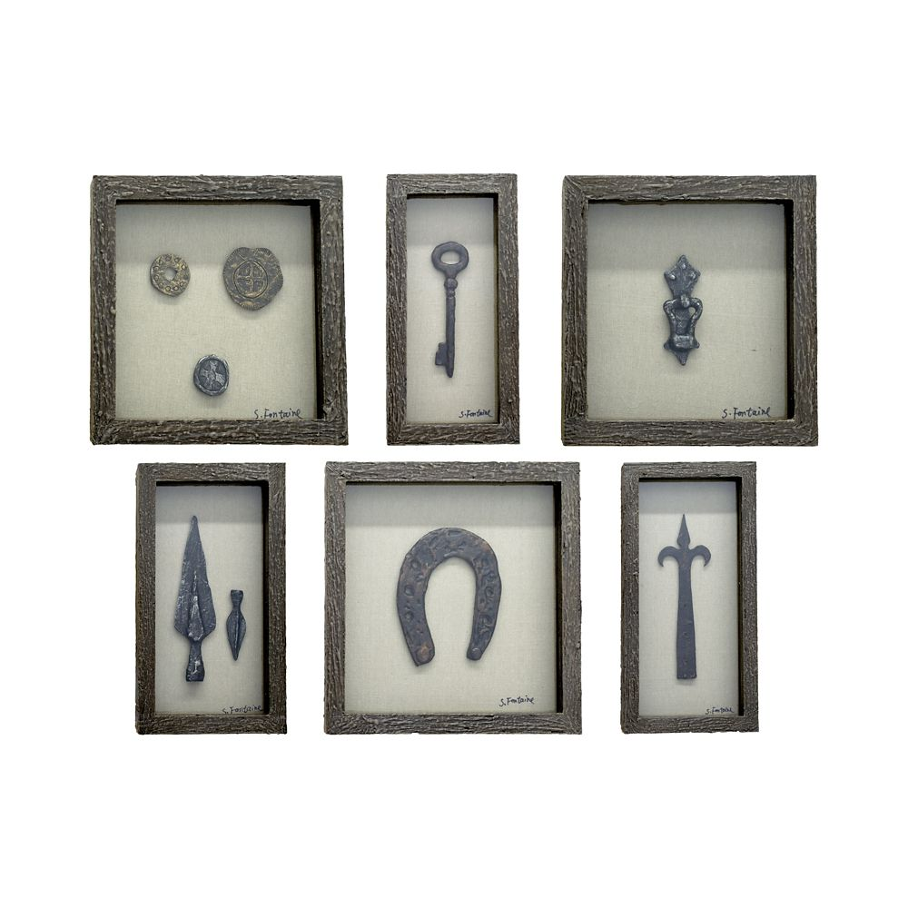 Collection Of Curiosities Wall Décor