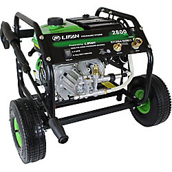 LIFAN 2,800 PSI 2.3 GPM AR Axial Cam Pump Recoil Start Gas Pressure Washer with Panel Mounted Controls