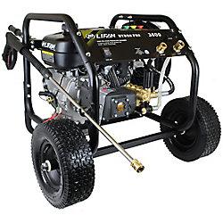 LIFAN Nettoyeur HP à essence 3600 lb/po2 3,5gal/min, pompe à 3 pistons RRV AR, panneau de commandes