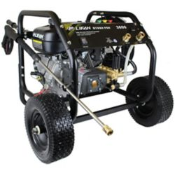 LIFAN 3600 PSI 3.5 GPM Gas Pressure Washer with Annovi Reverberi Tri-Plex RRV Pump and Panel Mounted Controls