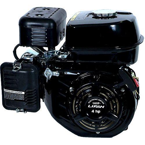 LIFAN 4 HP 118cc Horizontal Shaft Recoil Start Engine
