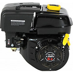 6.5 HP OHV Recoil Start 2:1 Wet Clutch Reduction Horizontal Shaft Engine