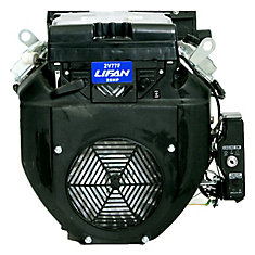 24 HP V-Twin Electric Start 1.125-inch Diameter Keyway Shaft Engine with 22 amp Charging System