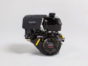 15 HP 420 cc OHV Electric Start Horizontal Keyway Shaft Engine with 18 Amp Charger