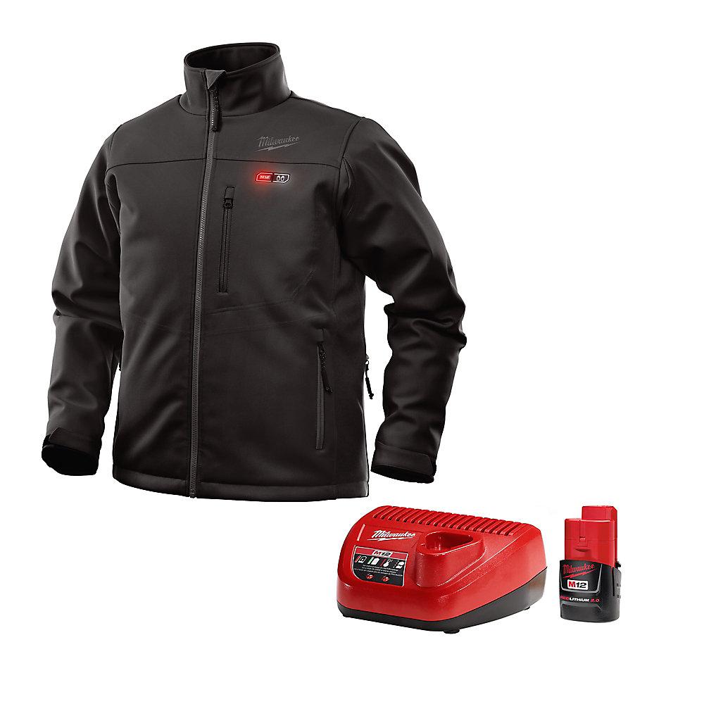 Ensemble de veste chauffante sans fil M12 noire L