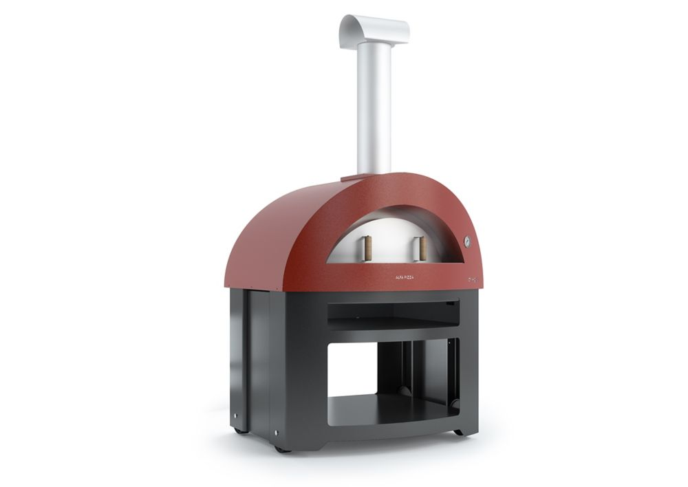 Forno Allegro with cart - red