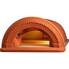 Spazio 90 Outdoor Wood Burning Pizza Oven with Arch