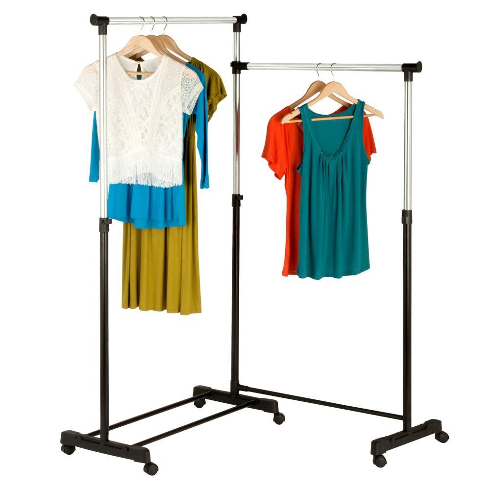 Étagère Double Pour Vêtements