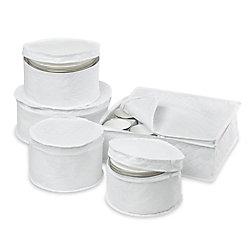 Honey-Can-Do International Dinnerware Storage Set (5-Piece)