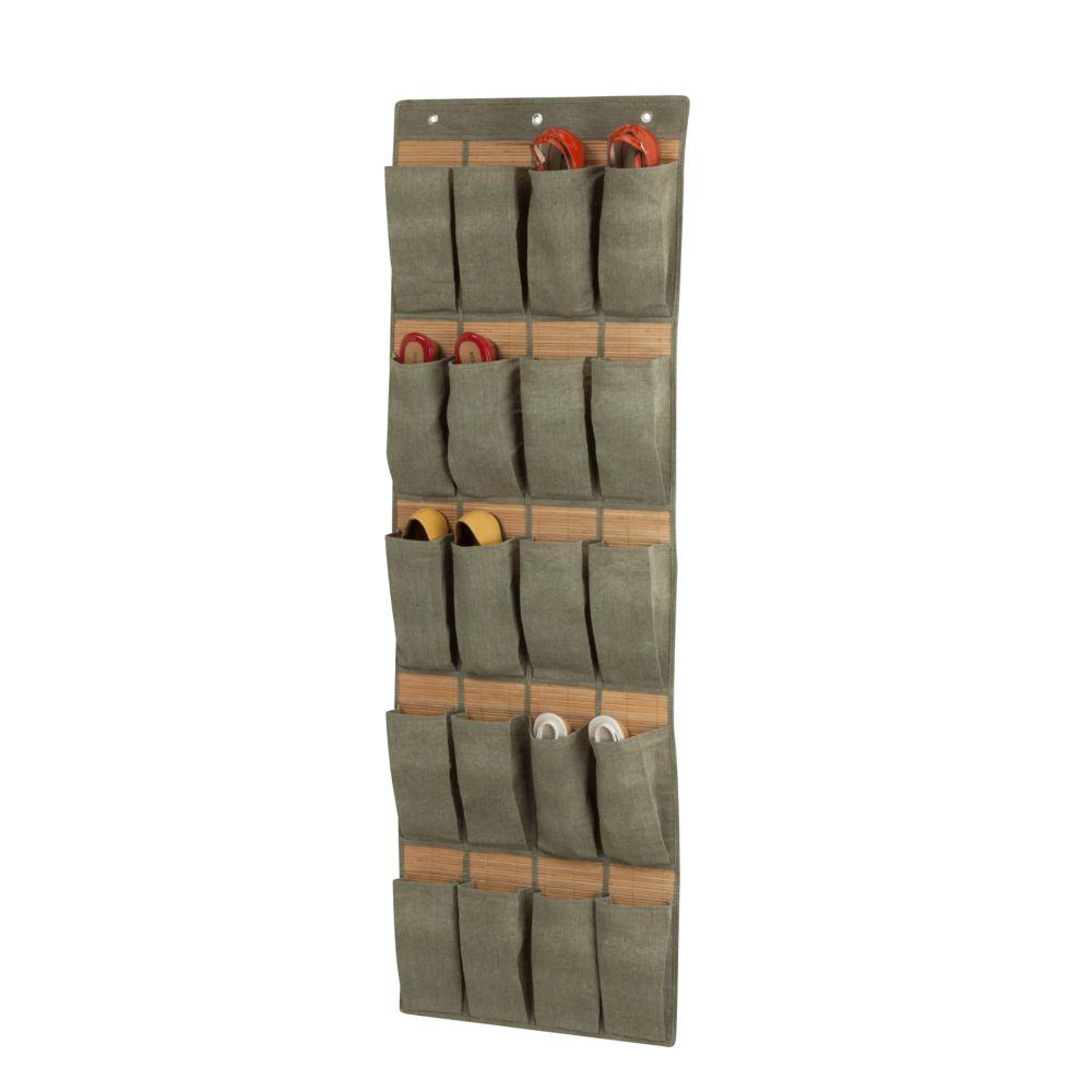 24 pocket otd  organizer - bamboo/moss
