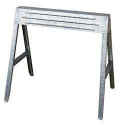 HDX 1-Compartment Folding Steel Sawhorse