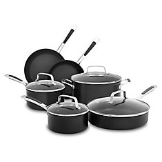 Hard Anodized Non-Stick 10-Piece Set