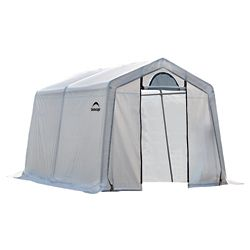 ShelterLogic 10 ft. x 10 ft. x 8 ft. Firewood Seasoning Shed
