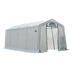 10 ft. x 20 ft. x 8 ft. Firewood Seasoning Shed