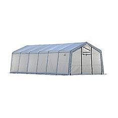 GrowIt 12 ft. x 24 ft. x 8 ft. Heavy Duty Walk-Thru Peak-Style Greenhouse